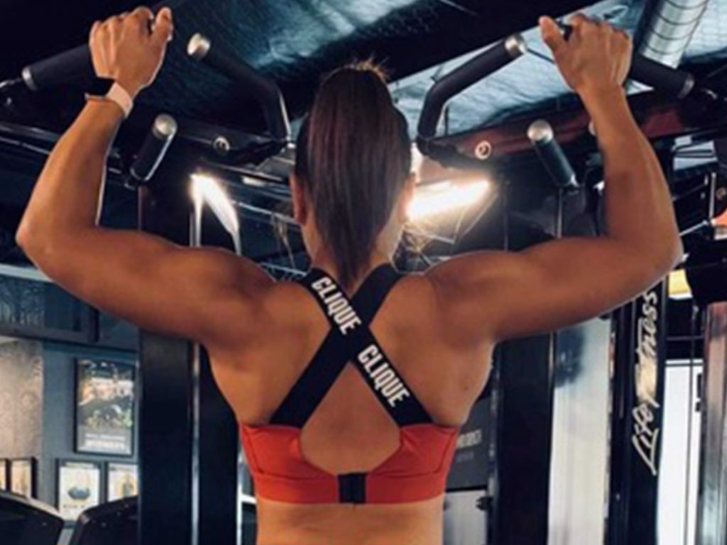 Rochelle Lucas Working Out